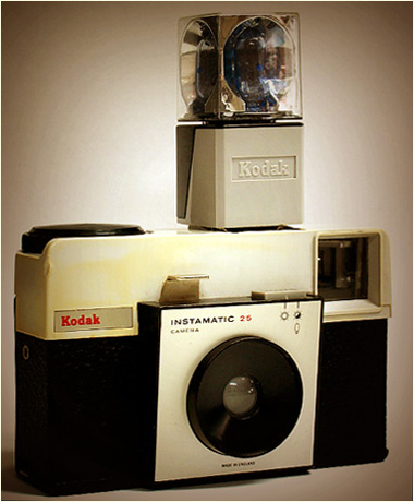 BLOG-Kodak instamatic 25 + flash