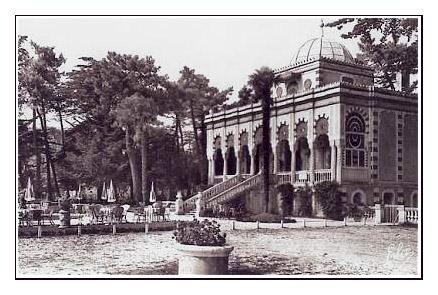 Carte ancienne Villa algérienne 1