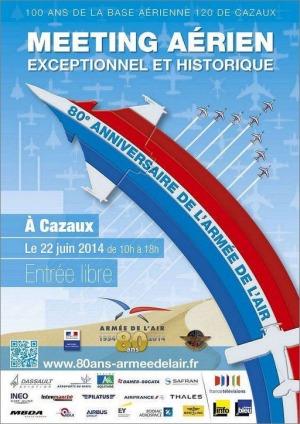 Meeting aérien Cazaux 22 Juin 2014