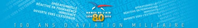 Site 80 ans Armée de l'Air