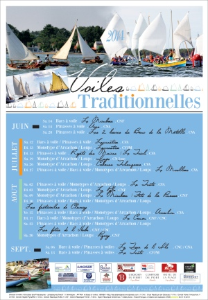AFFICHE APTRA VOILES TRADITIONNELLES 2014 MODIFIEE