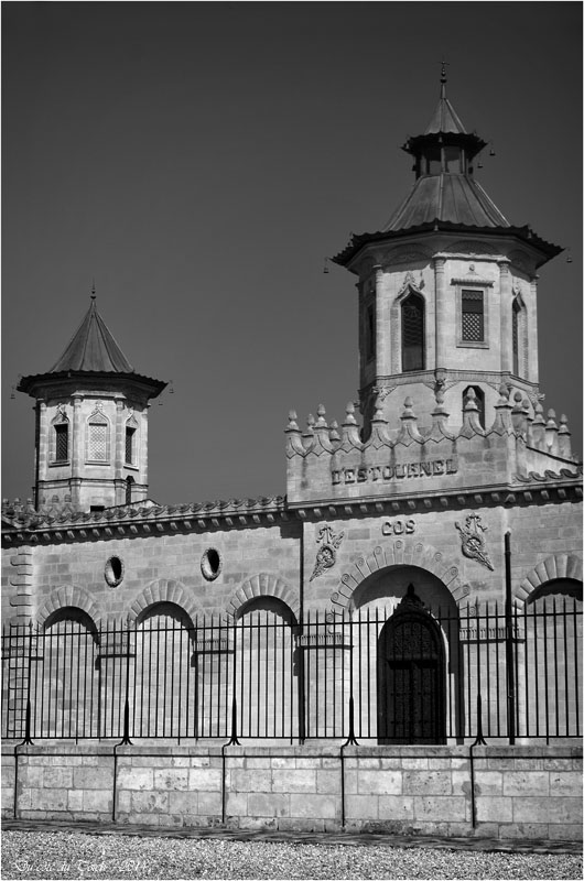 BLOG-DSC_30720-château Cos d'Estournel N&B