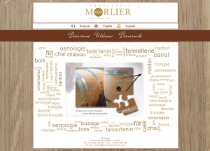 Site tonnellerie Morlier