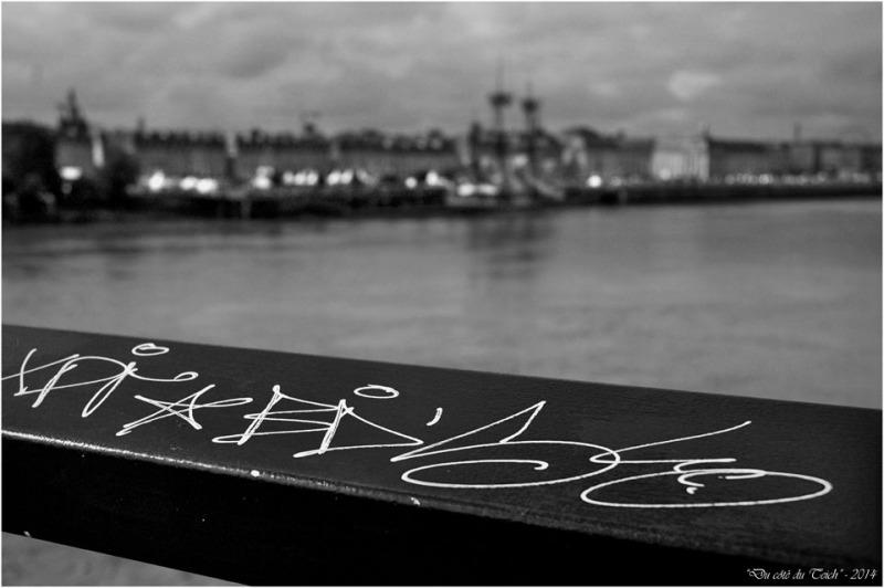 BLOG-DSC_2324-graffitis pont de pierre et Hermione à Bordeaux 9 Oct 2014 N&B