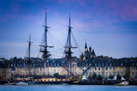 L'Hermione à Bordeaux - photo Alain Mascaro