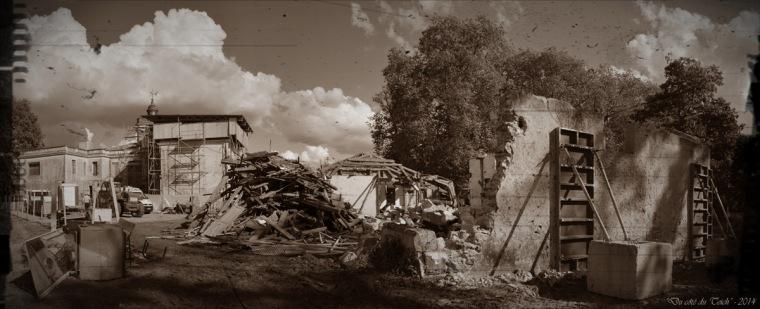 BLOG-DSC_31523-24-25-travaux château et poulinière domaine Certes Audenge Octobre 2014 PA03 sépia