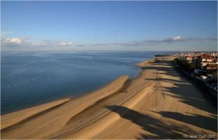 BLOG-DSC_32944-plage et port Arcachon depuis grande roue