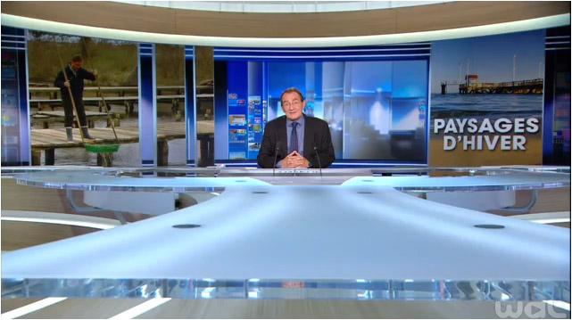 Paysages d'hiver 13h00 TF1 4 Février 2015 - Bassin d'Arcachon