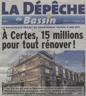 LDDB Oct 2015 - Certes 15 M pour tout rénover 1