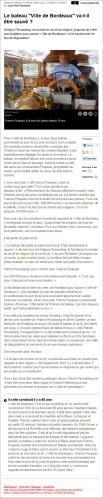 Le bateau ville de Bordeaux va-t-il être sauvé - Sud-Ouest du 21 Septembre 2013 b