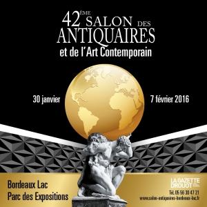 42ème salon antiquaires et art contemporain Bordeaux 2016
