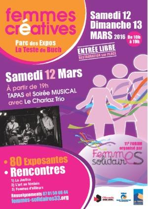 Femmes créatives - La Teste- 12 et 13 Mars 2016