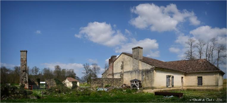 Chapelle, appartements de l'aumônier et vestiges caserne Sud