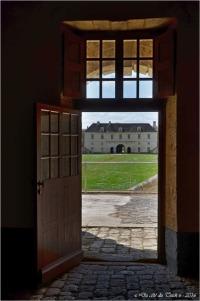 Corps de garde Royal vu depuis celui de la Gironde