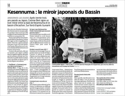 Kesennuma, le miroir japonais du Bassin - Sud-Ouest du 24 Avril 2016
