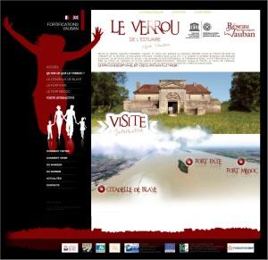 Visite interactive verrou estuaire - Vauban