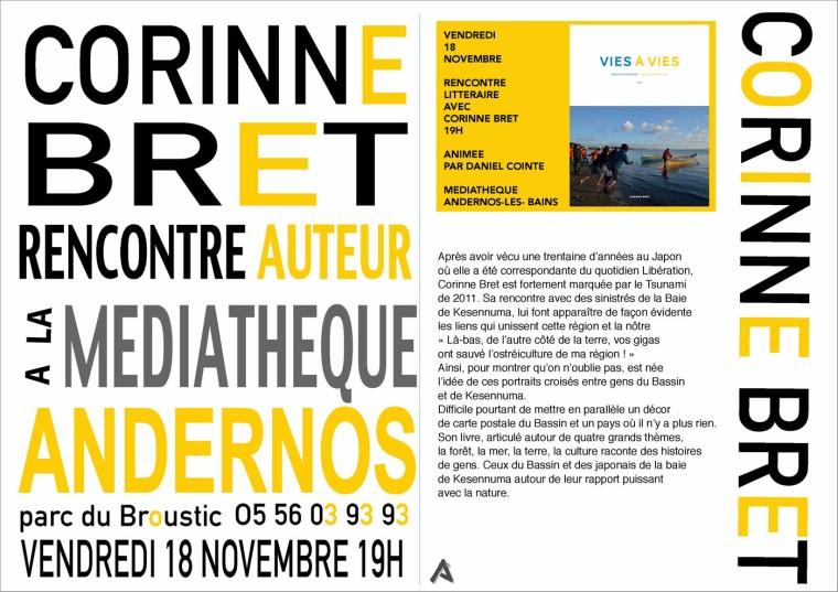 blog-rencontre-corinne-bret-vies-a-vies-mediatheque-andernos-18-nov