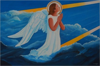 BLOG-P4038460-peinture Claude Raufaste chapelle St Michel de Mestras