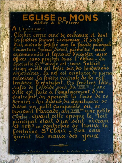 Présentation église St Pierre de Mons (1)