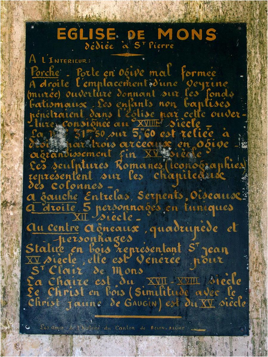 Présentation église St Pierre de Mons (2)