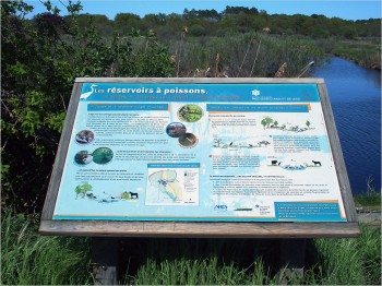 Les réservoirs à poisson d'Arès