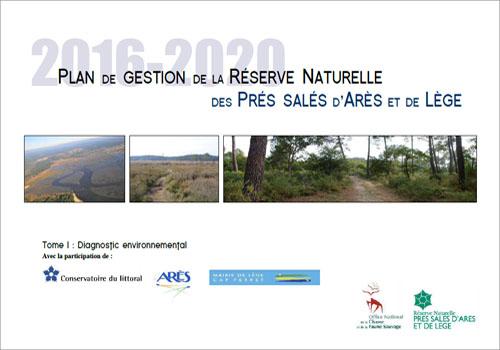Dossier PDF : Plan de gestion de la réserve naturelle des prés salés d'Arès et de Lège