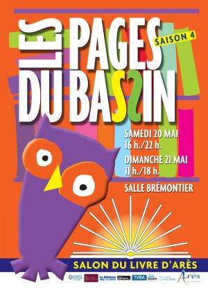 Affiche Pages du Bassin Arès 2017