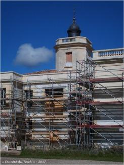 BLOG-P5069037-travaux château Certes Mai 2017