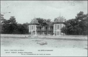 villa les Hirondelles - Grand-Piquey - collection François Cottin - site Les Auschitzky de Bordeaux