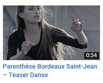 Parenthèse Bdx St Jean - Danse
