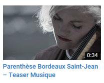 Parenthèse Bdx St Jean - Musique