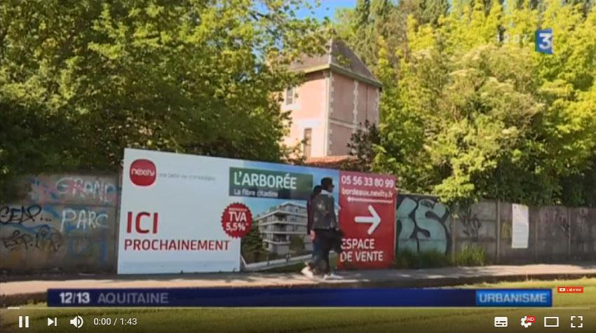 Reportage FR3 Aquitaine - sauver la villa Bengali de Pessac