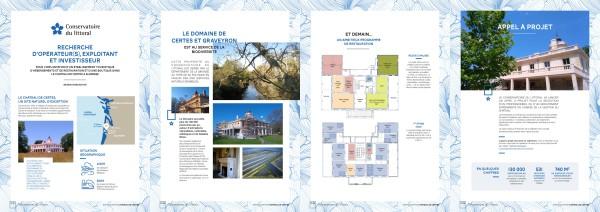 Appel à projet conservatoire du littoral - château de Certes
