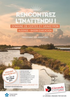 programme semaine inaugurale Certes Graveyron - 7 au 15 Octobre 2017