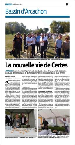 La nouvelle vie de Certes
