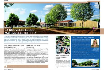 Bulletin municipal d'information le Teich - Juin 2017 (dossier nouvelle école maternelledu Delta)