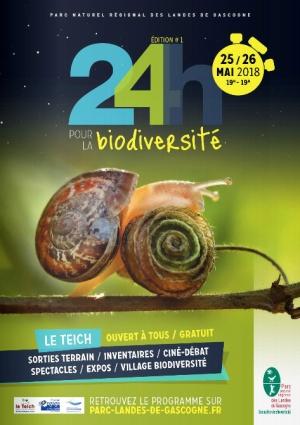 24 h biodiversité 2018 - édition 1 - le Teich