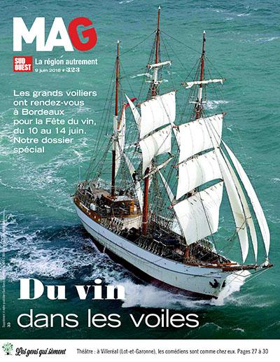Dossier spécial grands voiliers et fête du vin Bordeaux 2018