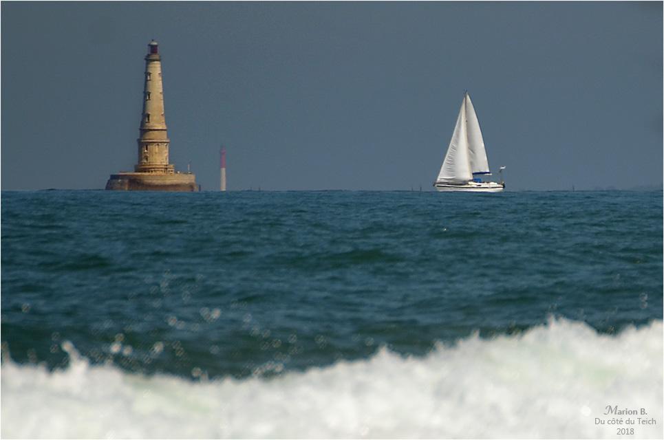 BLOG-DSC_44355-2-voilier et phares Cordouan et la Coubre
