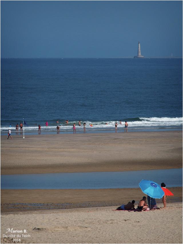 BLOG-P7253012-plage Soulac et phare Cordouan marée basse