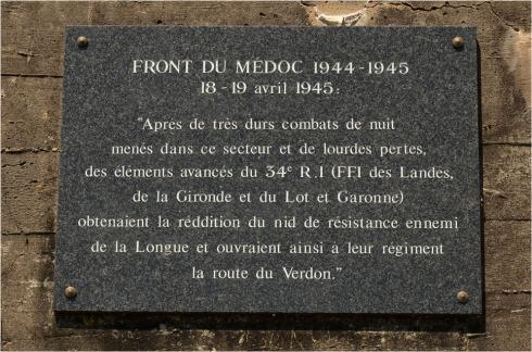 BLOG-DSC_44425-plaque front du Médoc 18 19 Avril 1945 Neyran