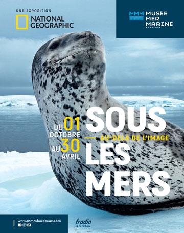 MMM - sous les mers au-delà de l'image - National Geographic - 1er Oct 2018 au 30 Avril 2019