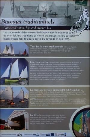 Bateaux traditionnels du Bassin d'Arcachon 2