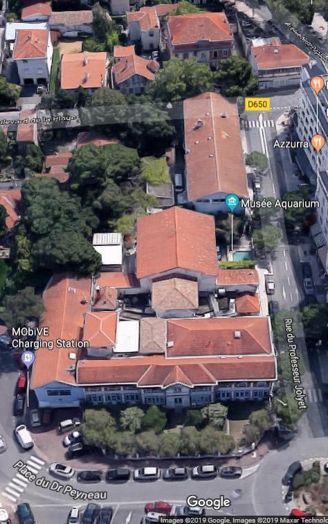 station-marine et musée-aquarium Arcachon - google-maps 2019