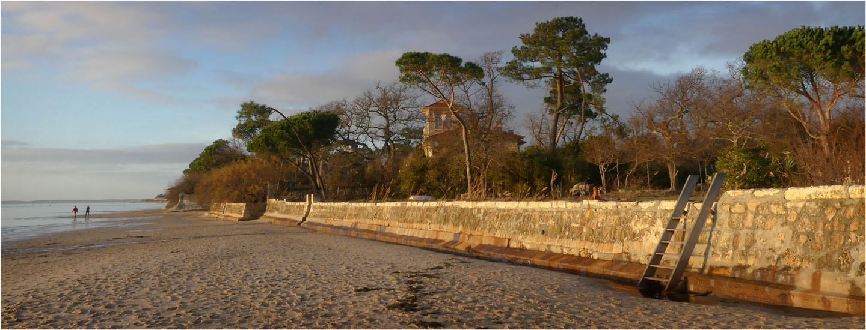 BLOG-P1000346-bannière plage Taussat et villa la Tosca