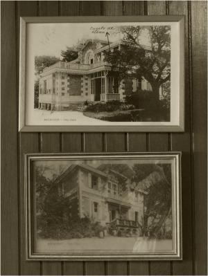 AP1010921-cpa villa Clara hall d'immeuble sépia