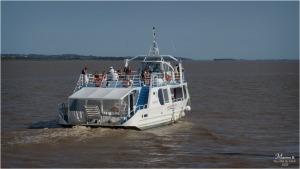 Compagnie des 2 Rives sur l'estuaire de la Gironde